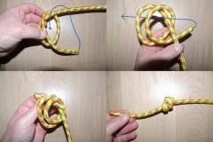 Barrel Knot - single - at sikre tampen